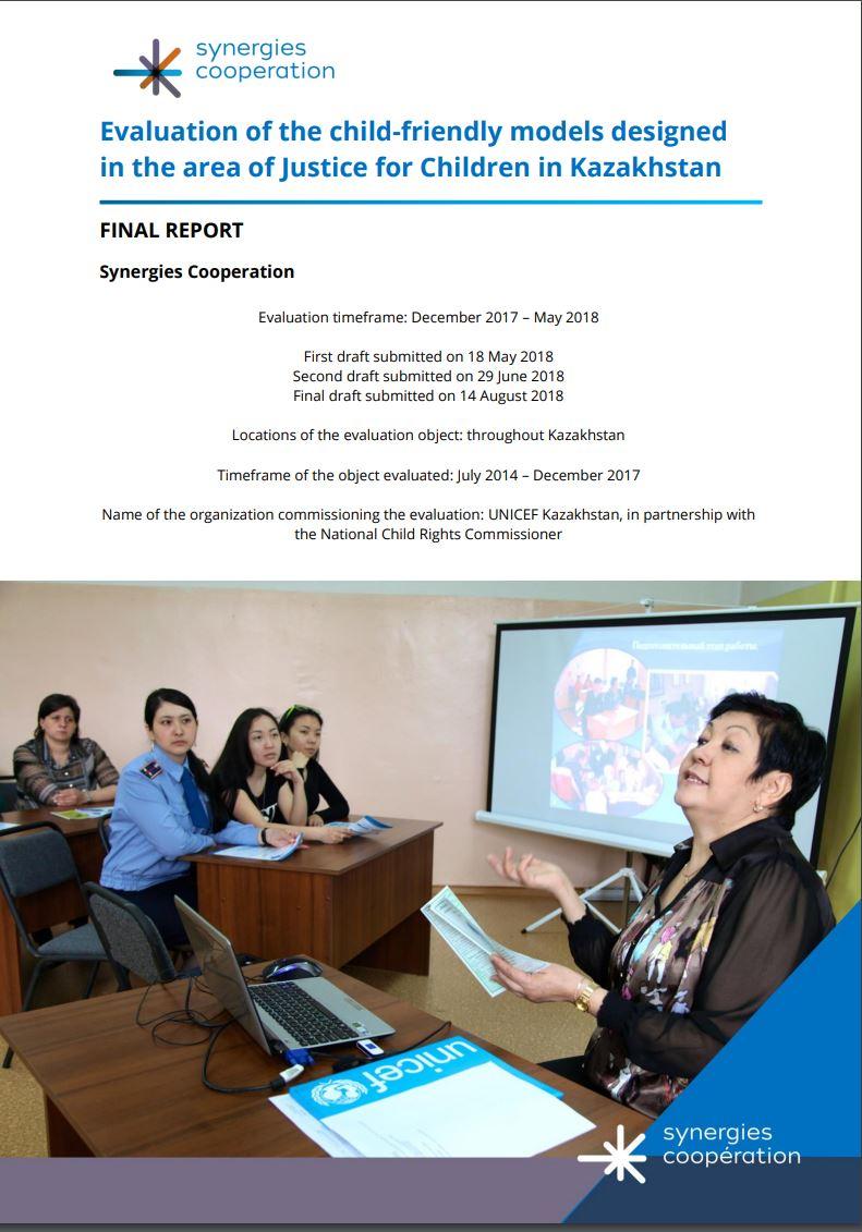 Rapport Kazakhstan modeles