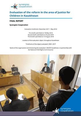 Evaluation Justice Kazakhstan