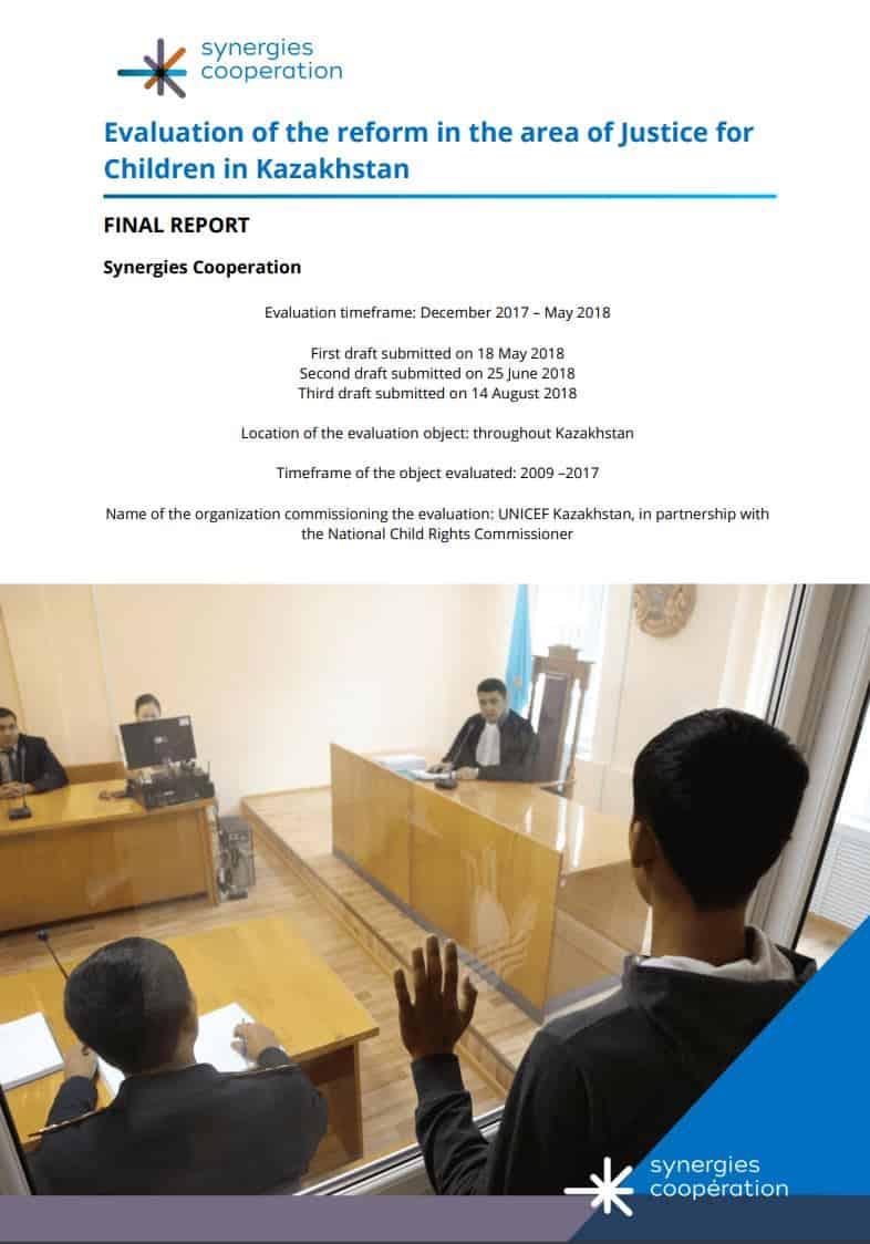 Rapport UNICEF Kazakhstan