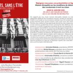 Mission d'enquête sur la peine de mort au Liban