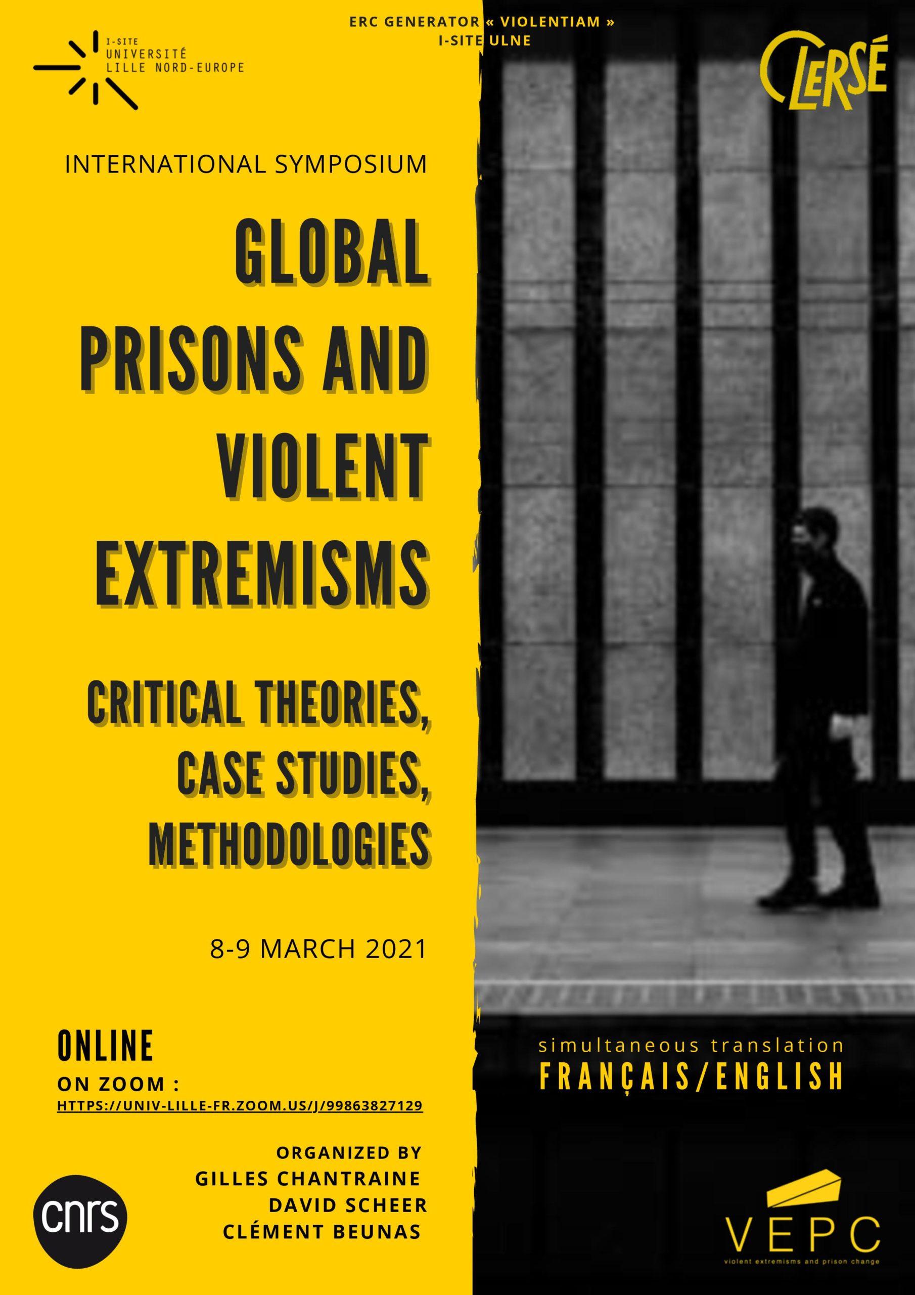 Colloque Prisons du monde et extrémismes violents