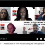 Webinaire sur les conditions de détention des condamnés à mort au Liban